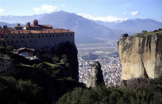 """Monasterio de """"Ayios Stéfanos"""" en Meteora"""