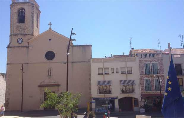 Plaza del Ayuntamiento in Calafell