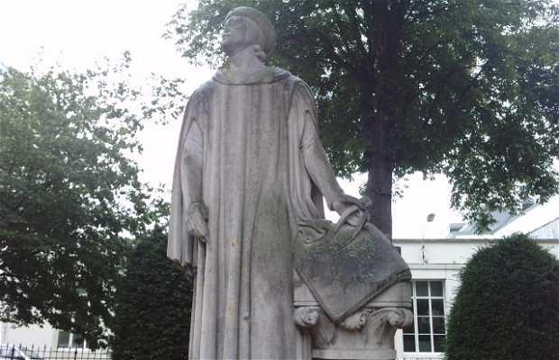 Statue Villard de Honnecourt