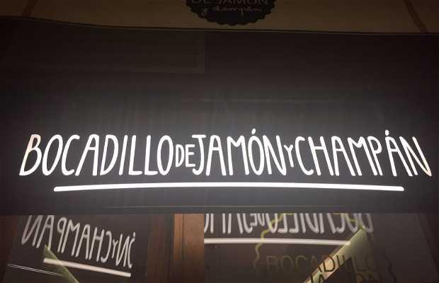 Bocadillo de Jamón y Champán
