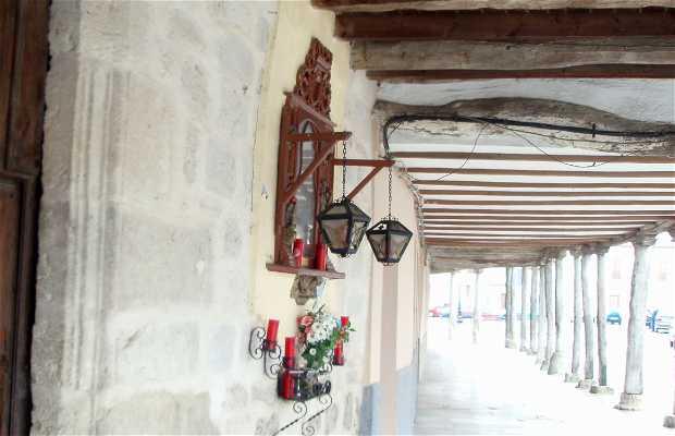 Hornacina de Nuestra Señora de Alconada