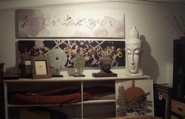 Negozio di artigianato Alma Zen a Comillas