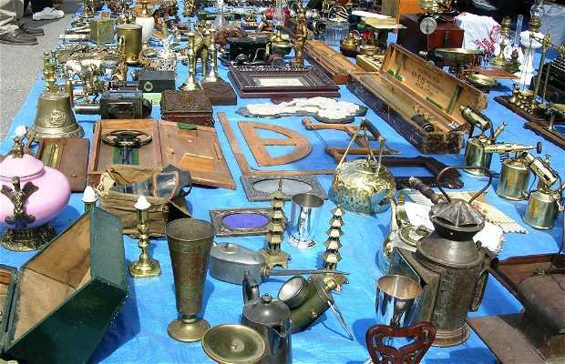 Mojácar: Antiques Market