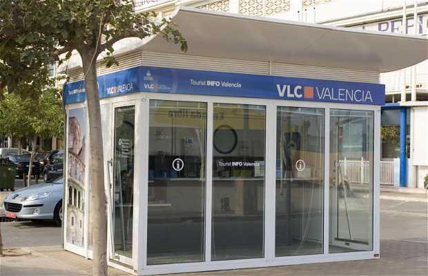 TOURIST INFO VALENCIA- PLAYA (frente a Hotel Neptuno)