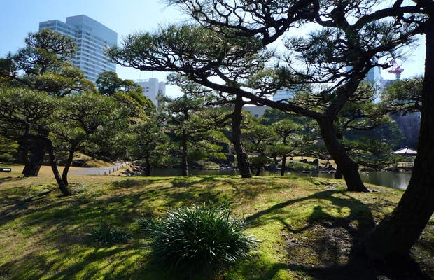 Kyu Shiba Rikyu Onshi Teien, 旧芝離宮恩賜庭園