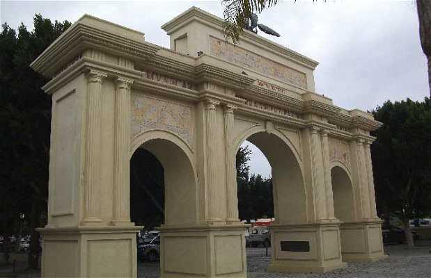 Arco Homenaje a Blas Infante