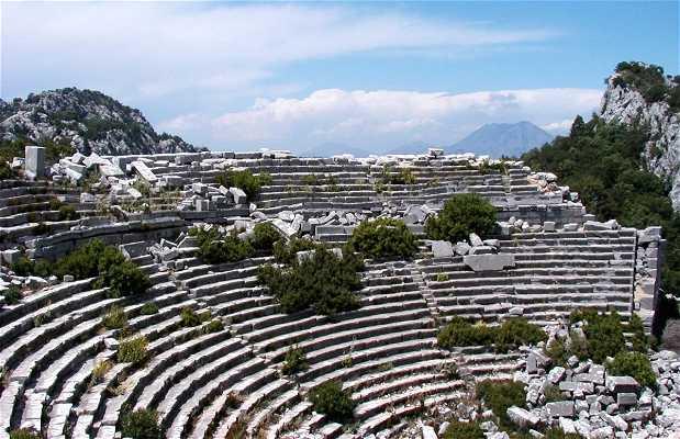 Site archéologique de Termeso