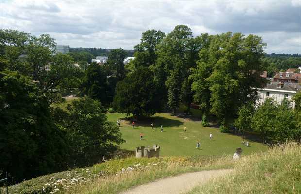 The Mound Dane John Gardens