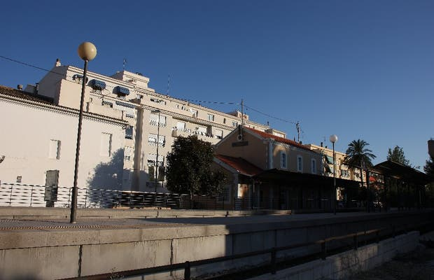 Altea Train station