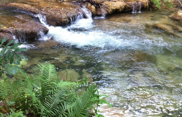 Cascadas mágicas de Copalita