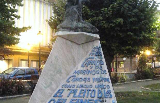 """Fuente de """" El Pleito de los Delfines """""""