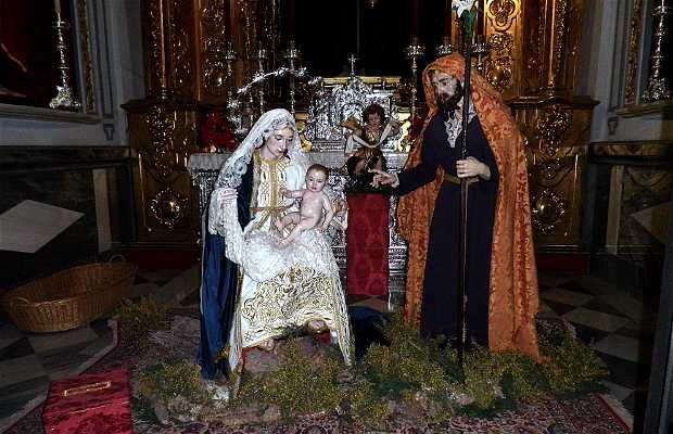 Belén de la Cofradía de la Pasión en la Iglesia de los Mártires