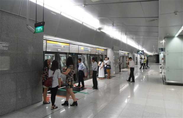 Métro à Singapour