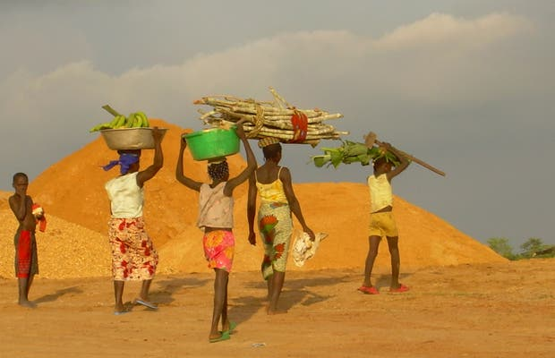 Alrededores de Cabinda