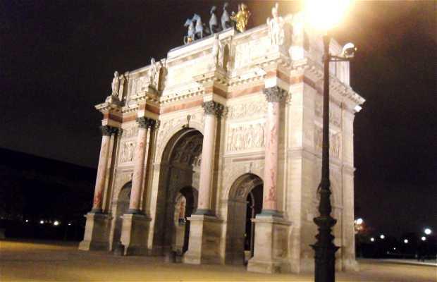 Arc de Triomphe du Carrousel - Arco di Trionfo del Carrousel