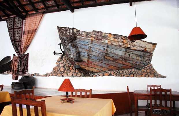 Restaurante Áncora d´Ouro, en Illa de Mozambique