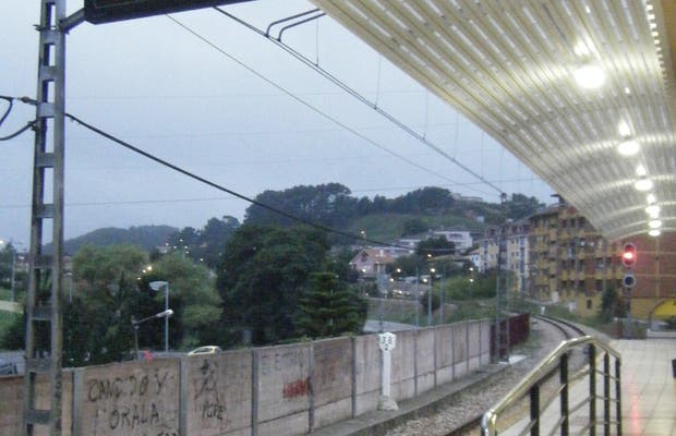 Estación de FEVE, Candás