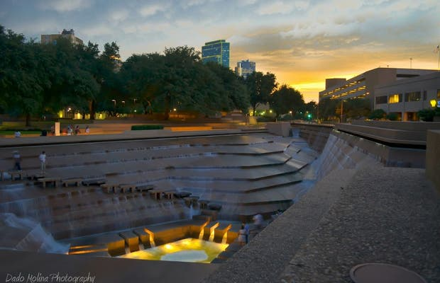 Fort Worth Water Gardens In Fort Worth 1 Reviews And 1 Photos