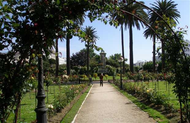 Jardín de La Rosaleda de A Coruña