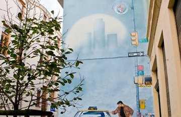 Mural XIII - William Vance & Jean Van Hamme