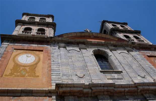 La chiesa Collegiale di Briançon
