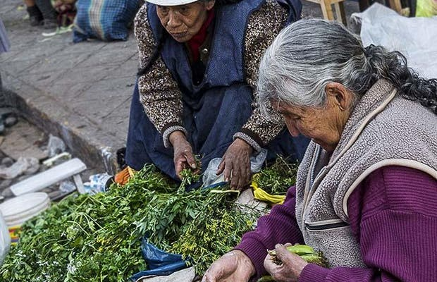 Il Mercato di San Pedro a Cuzco