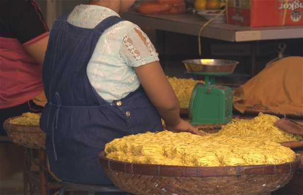 Producción de tallarines