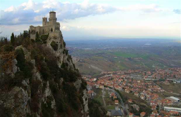 Las torres de San Marino