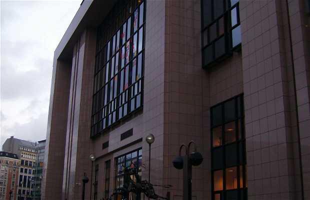 Edificio Justus Lipsius - Consejo de la Unión Europea