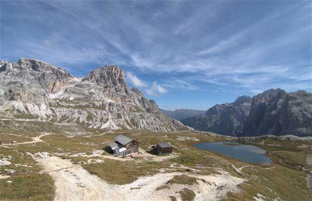 Refugio Locatelli alle Tre Cime, Sesto, Italia