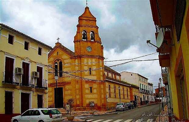 Chiesa di Nostra Signora della Virtù a Fuente de Piedra