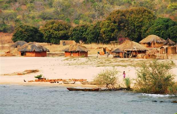 Bahía de Isanga, en el lago Tanganika