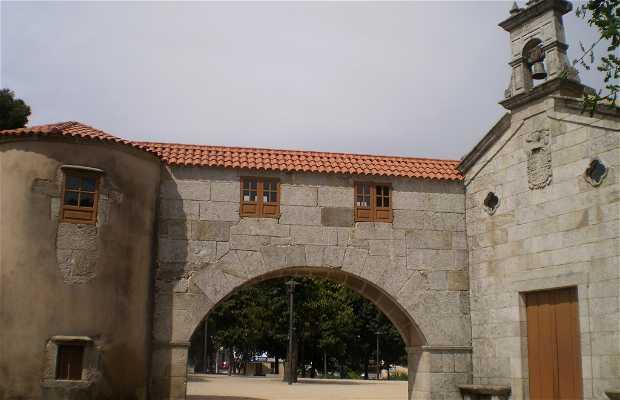 Pazo y capilla de San Roque