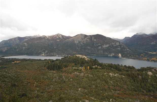 Vista sobre el Lago Moreno