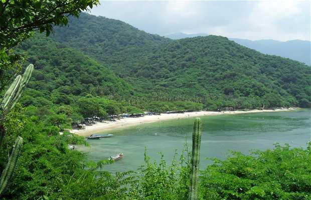 Spiaggia Cristal a Santa Marta
