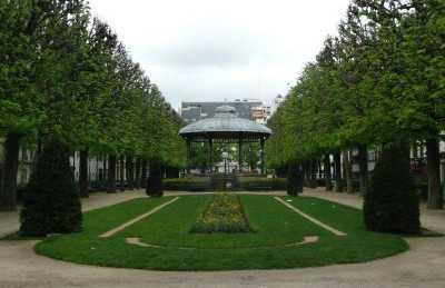 Jardim da Praça do Comércio