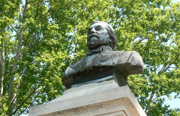 Henri de Bornier Statue