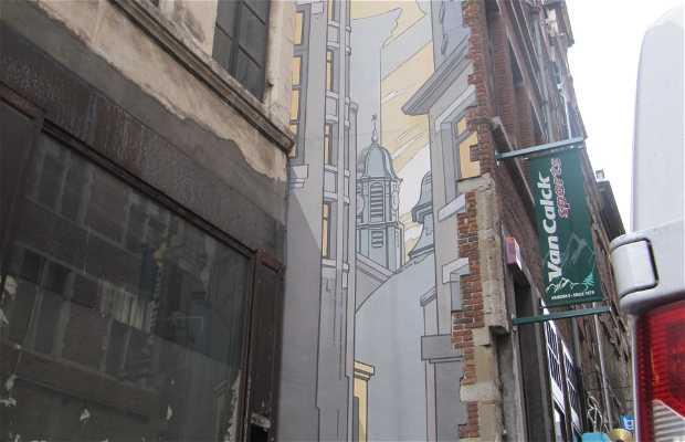 Mural Le Passage - Schuiten