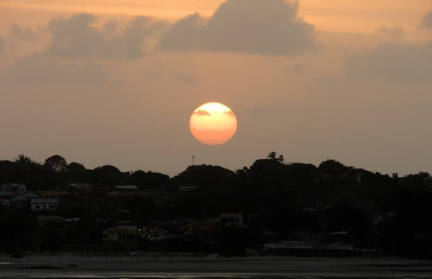 Pôr do sol em São Luís