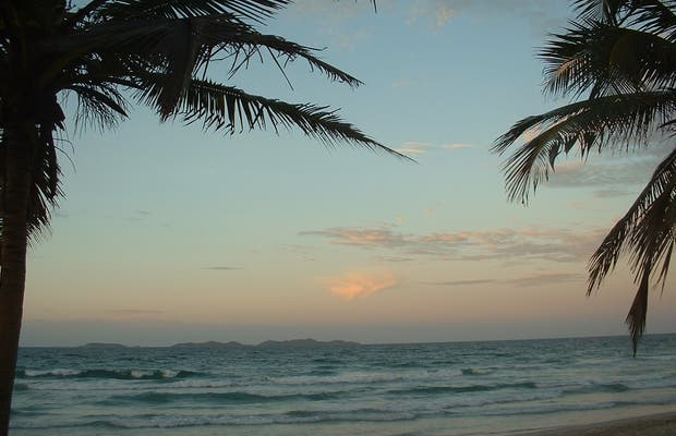 Sunset in Porlamar