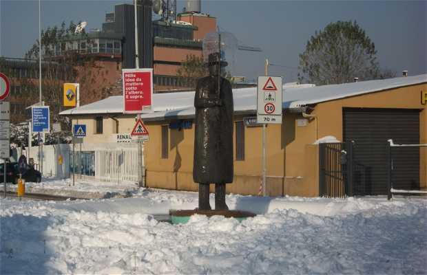 Estatua L'uomo della Pioggia