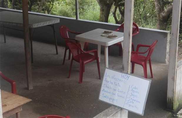 El pequeño restaurante con dos cuencas