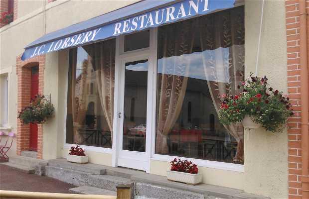 Restaurant, Lorsery