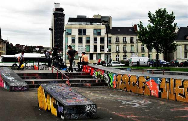 Skate park d'hôtel dieu