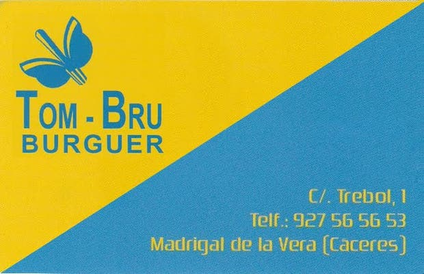 Pizzeria burguer TOM-BRU