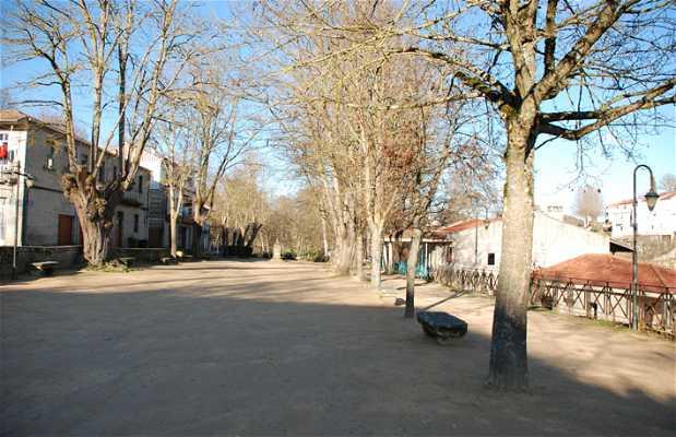 Paseo de la alameda de Allariz