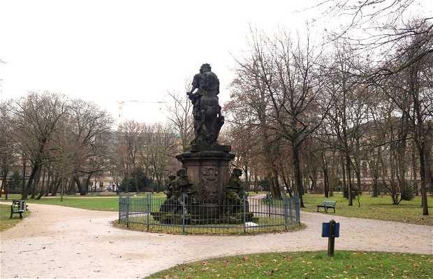 Statua equestre di Christian Ernst