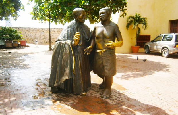Escultura a San Pedro Claver