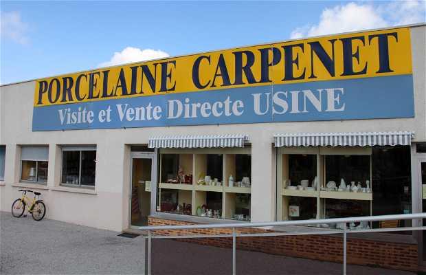 Porcelaine de Limoges Carpenet