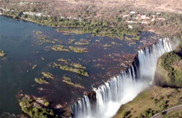 Vuelo escénico en Victoria Falls